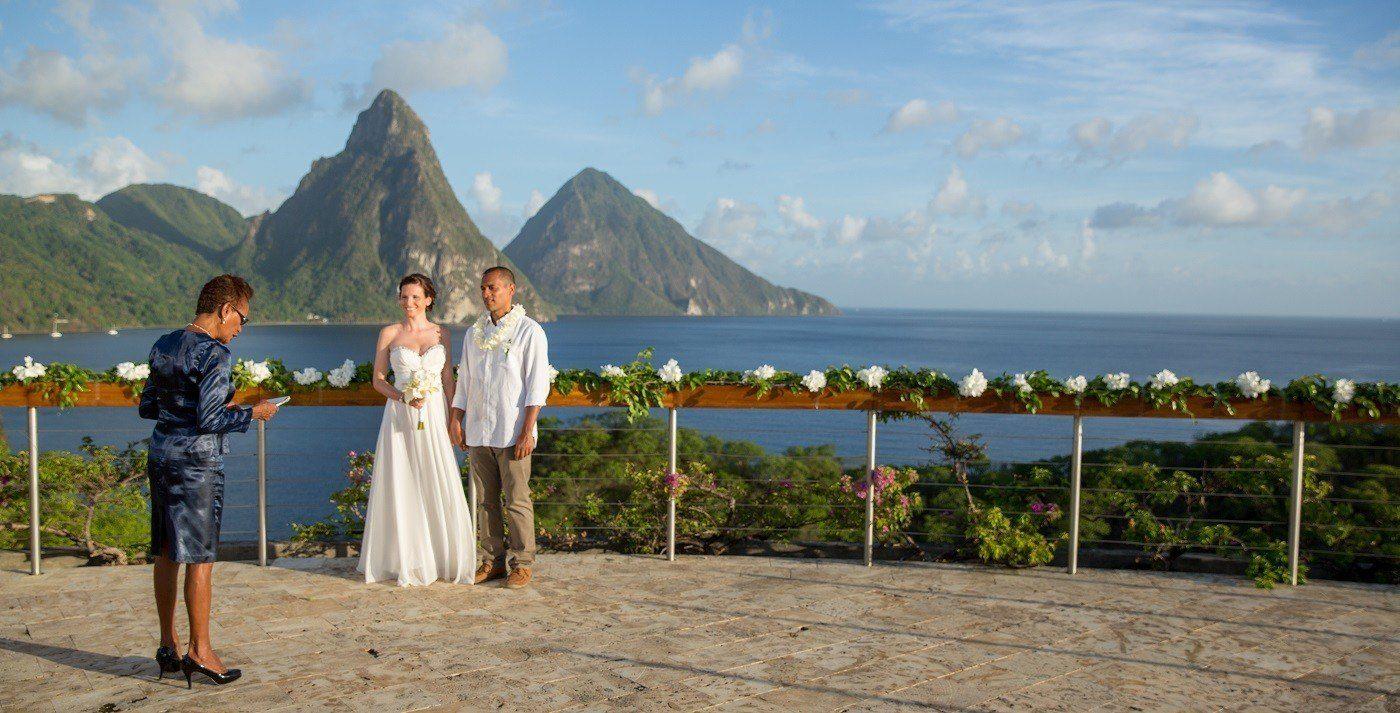 St Lucia Wedding Ceremony