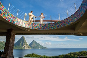 Take the Plunge at Jade Mountain